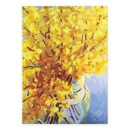 Courtside Market Fresh Yellow Vase Canvas Wall Art