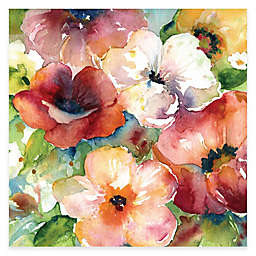 Courtside Market Bunches of Flowers I Floral Canvas Wall Art