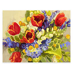 Courtside Market Garden Bouquet Floral Canvas Wall Art