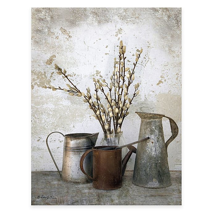 Alternate image 1 for Courtside Market Three Watering Cans Canvas Wall Art