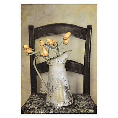 Courtside Market Tulips and Watering Can Canvas Wall Art