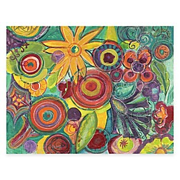 Courtside Market Colorful Flowers II Canvas Wall Art
