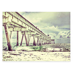 Courtside Market Long Pier Canvas Wall Art