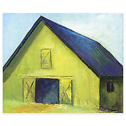 Courtside Market Barn II 16-Inch x 20-Inch Canvas Wall Art
