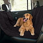 Pawslife™ Quilted Pet Hammock Car Seat Cover in Black