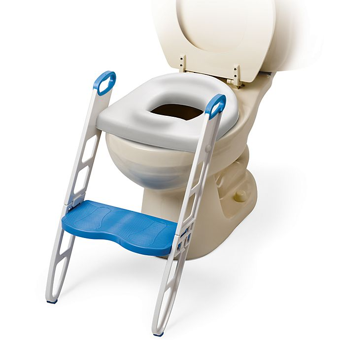 Alternate image 1 for Mommy's Helper™ Padded Potty Seat with Step Stool