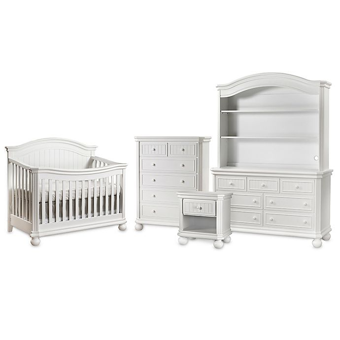Alternate image 1 for Sorelle Finley Nursery Furniture Collection in White