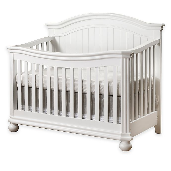 Alternate image 1 for Sorelle Finley 4-in-1 Convertible Crib in White