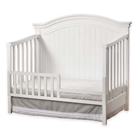 Sorelle Toddler Guard Rail In White Buybuy Baby
