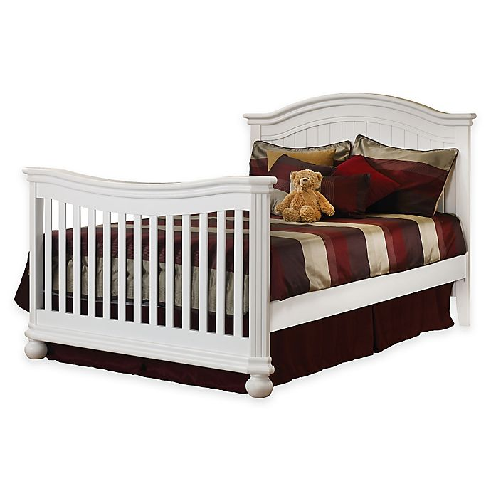 Alternate image 1 for Sorelle Full Size Bed Rails in White