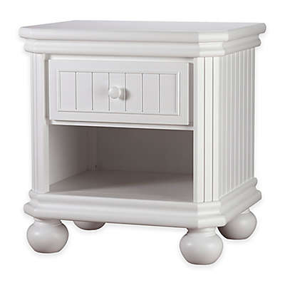 Sorelle Finley Nightstand in White