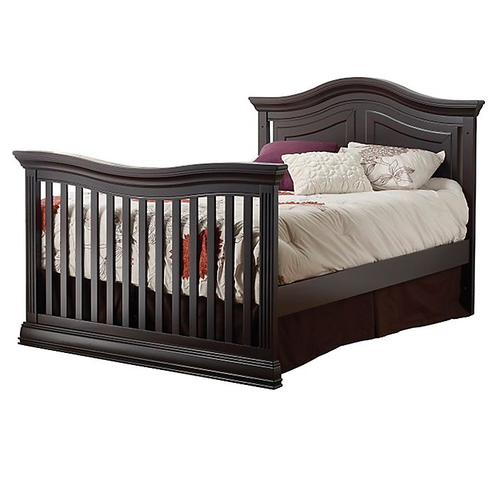 Alternate image 1 for Sorelle Providence Full Size Bed Rails in Dark Espresso