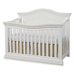Sorelle Providence 4-in-1 Convertible Crib in White