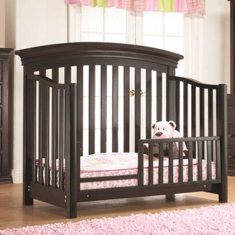 buy sorelle torino toddler guard rail in espresso from bed bath beyond. Black Bedroom Furniture Sets. Home Design Ideas