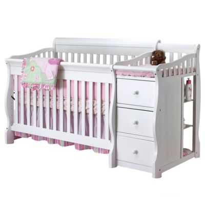 Sorelle Tuscany 4 In 1 Convertible Crib And Changer In