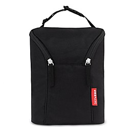 SKIP*HOP® Grab & Go Double Bottle Bag in Black