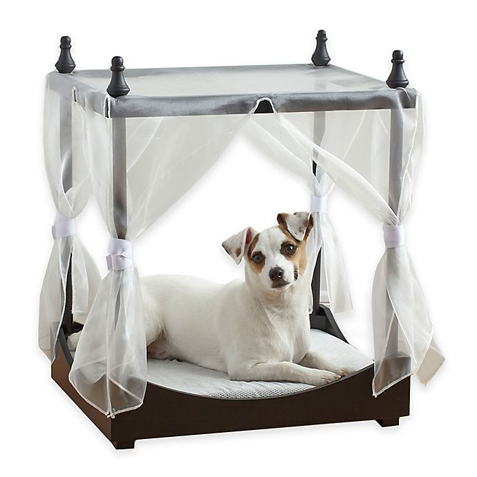 Alternate image 1 for Pawslife™ Pet Canopy Bed