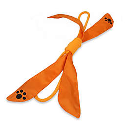 Extreme Bow Squeak Pet Rope Toy in Orange