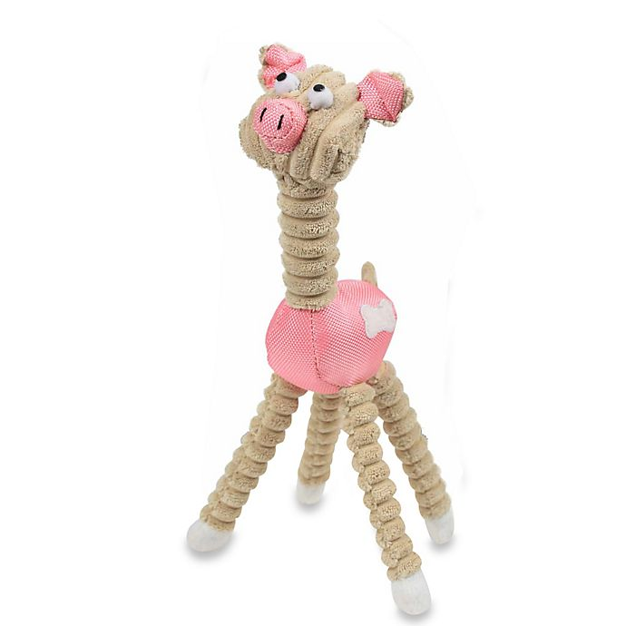 Alternate image 1 for Jute and Rope Giraffe-Pig Pet Toy