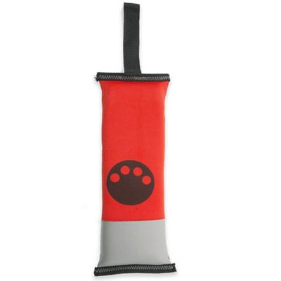 Active-Life Floating Tug Dog Chew Toy in Red/Black