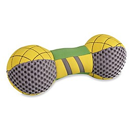 Bark-Active Floating Bone Dog Fetch Toy in Yellow/Green