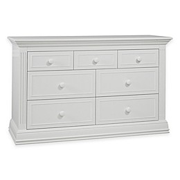 Sorelle Providence 7-Drawer Double Dresser in White