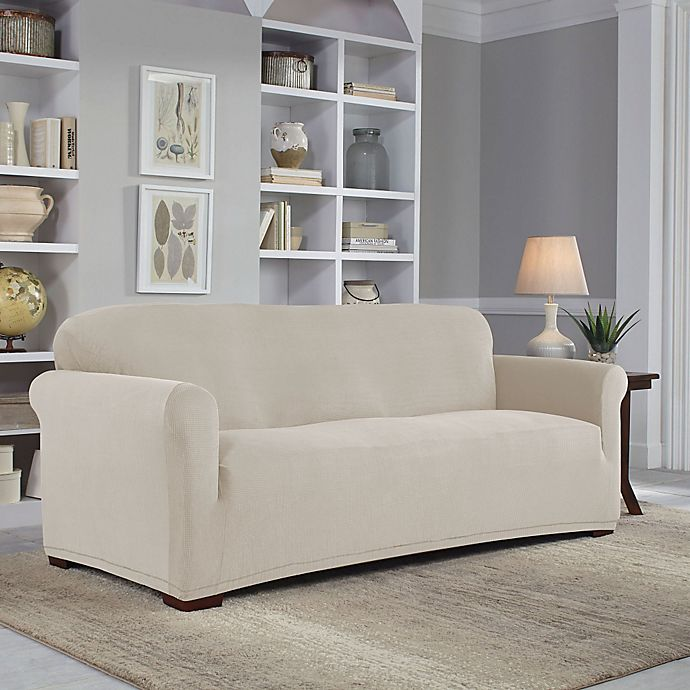 Alternate image 1 for Perfect Fit® Easy Fit Furniture Slipcover Collection