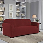 Perfect Fit® Easy Fit Sofa Slipcover in Claret
