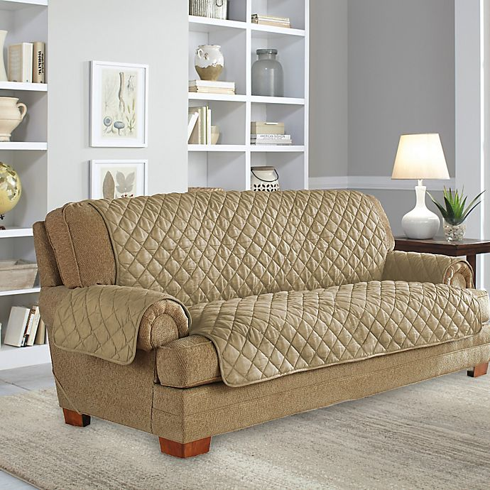 Perfect Fit 174 Waterproof Sofa Protector Bed Bath Amp Beyond
