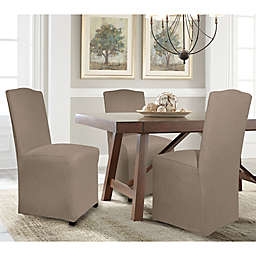 Perfect Fit® Reversible Solid to Solid Parsons Chair Slipcover 046943484
