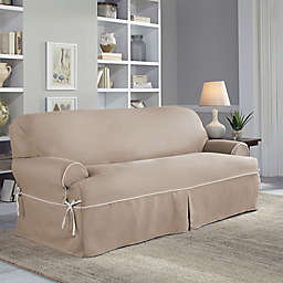 Perfect Fit Clic Twill T Sofa Slipcover