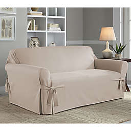 Perfect Fit Clic Relaxed Loveseat Slipcover