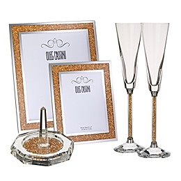 Oleg Cassini Crystal Diamond Gold Fine Giftware Collection