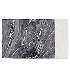 Artisanal Kitchen Supply® Marble Serving Board in White/Grey