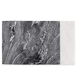 Artisanal Kitchen Supply® Marble Serving Board in White/Grey