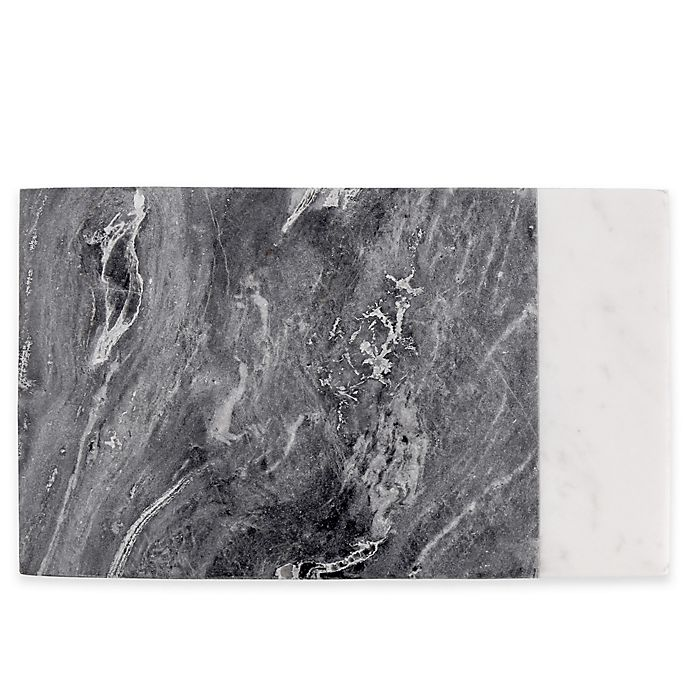 Alternate image 1 for Artisanal Kitchen Supply® Marble Serving Board in White/Grey
