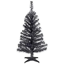 National Tree 3-Foot Tinsel Christmas Tree