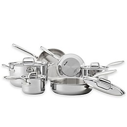 Breville® Thermal Pro™ Clad Stainless Steel 10-Piece Cookware Set