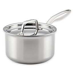 Breville® Thermal Pro™ Clad Stainless Steel 2-Quart Covered Saucepan