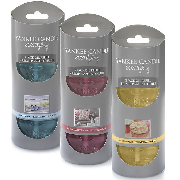 Alternate image 1 for Yankee Candle® Scentplug® Refill (Set of 2)