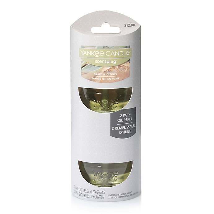 Alternate image 1 for Yankee Candle® Scentplug® Sage & Citrus Refill (Set of 2)