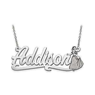 Disney® 14K Gold 18-Inch Chain Snow White Nameplate Pendant Necklace