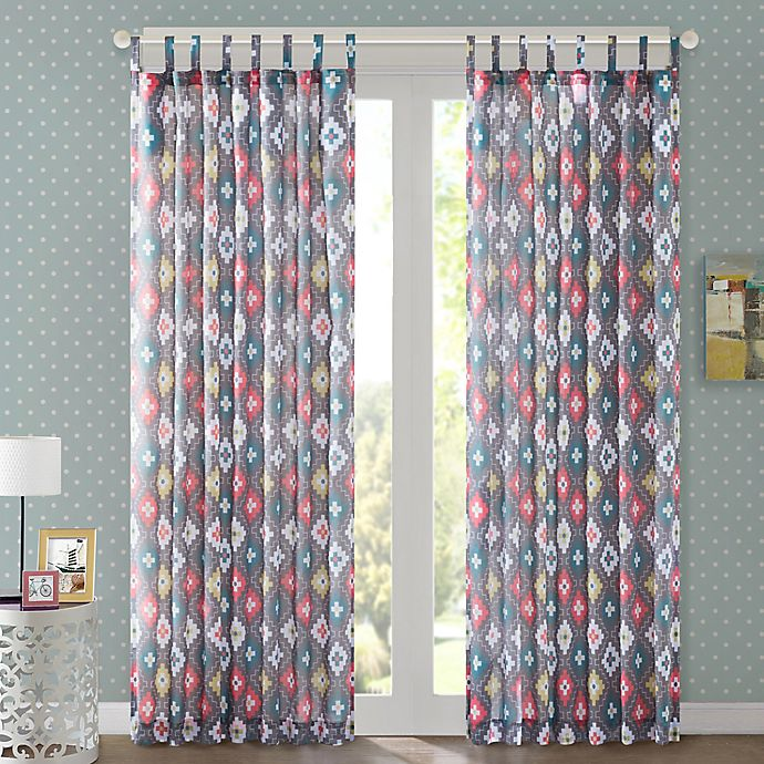 Alternate image 1 for Regency Heights Jax Tab Top Window Curtain Panel