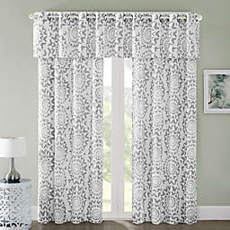 Regency Heights Mariposa Window Curtain Panel and Valance