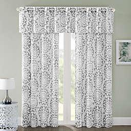 Regency Heights Mariposa Window Curtain Panel and Valance