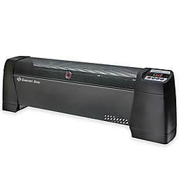 Comfort Zone® Thermal Digital Baseboard Heater in Black