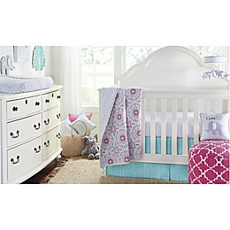 Wendy Bellissimo™ Mix & Match Crib Bedding Collection in Grey/Pink