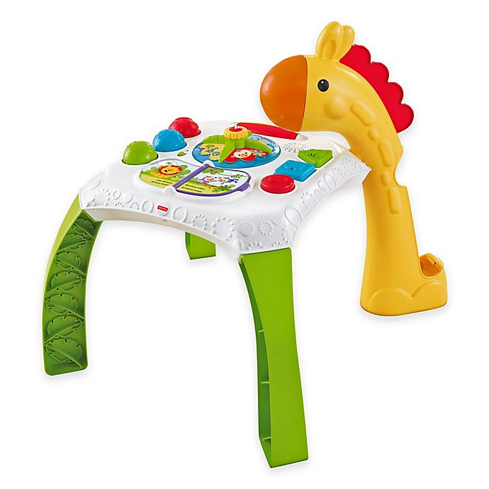 Alternate image 1 for Fisher-Price® Animal Friends Learning Table