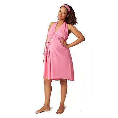Pretty Pushers® Labor Gown in Hot Pink
