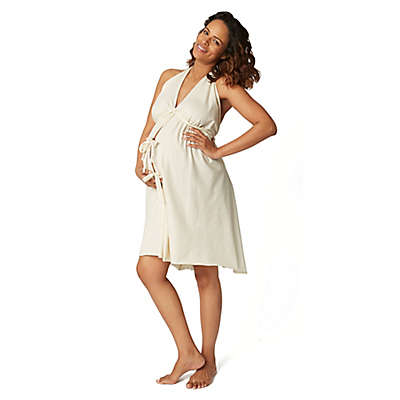 Pretty Pushers® Labor Gown in Cream